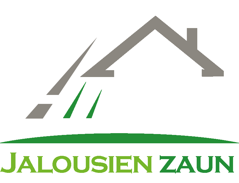 Jalousien-Zaun